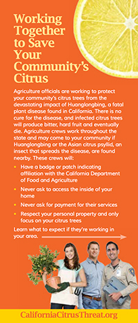 Citrus Residential Program Info Card